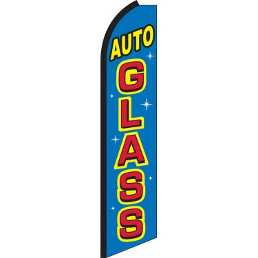 Auto Glass Swooper Feather Flag