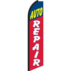 Auto Repair Swooper Feather Flag