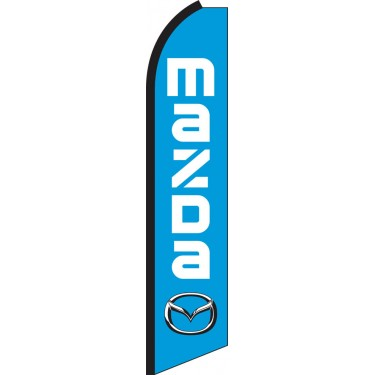 Mazda Swooper Feather Flag
