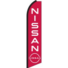 Nissan Swooper Feather Flag