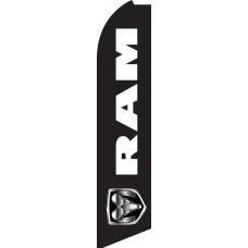 RAM Swooper Feather Flag