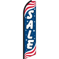 Sale Patriotic Swooper Feather Flag