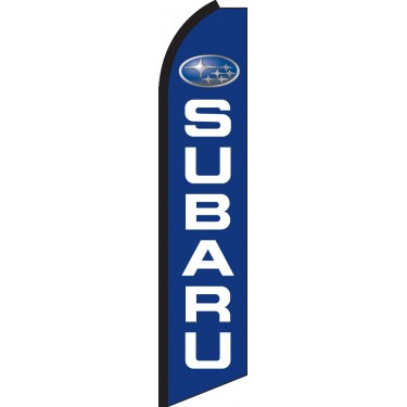 Subaru Swooper Feather Flag
