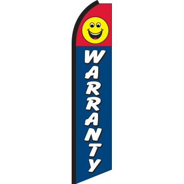 Warranty Swooper Feather Flag
