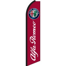 Alfa Romeo Swooper Feather Flag