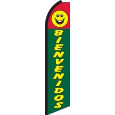 Bienvenidos Swooper Feather Flag