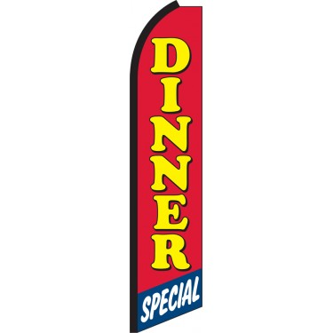 Dinner Special Swooper Feather Flag