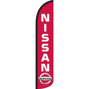 Nissan Wind-Free Feather Flag
