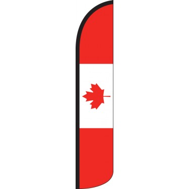 Canada Wind-Free Feather Flag