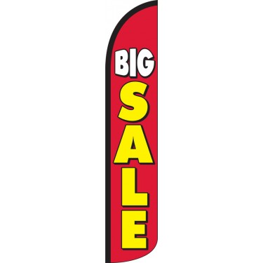 Big Sale Wind-Free Feather Flag