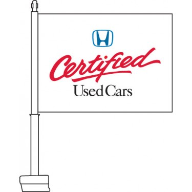 Honda Certified Used Cars Car Flag