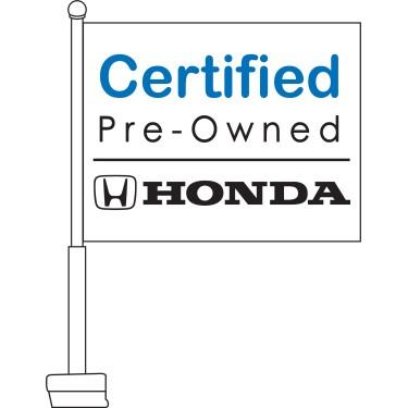 Honda Certified Pre-Owned Car Flag