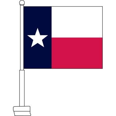 Texas Car Flag