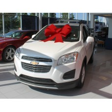 34 Inch Red Windshield Car Bow