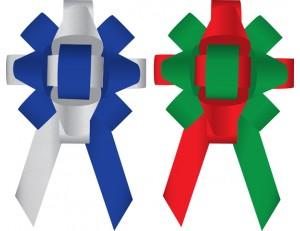 Build-a-Bow Custom 2-Color Car Bows