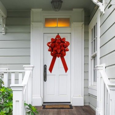 """Big 28"""" Front Door Bow For House"""