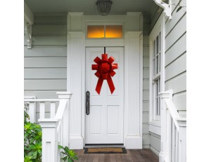 "Big 22"" Front Door Bow For House"