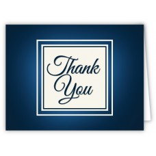 Thank You (Blank) Greeting Cards
